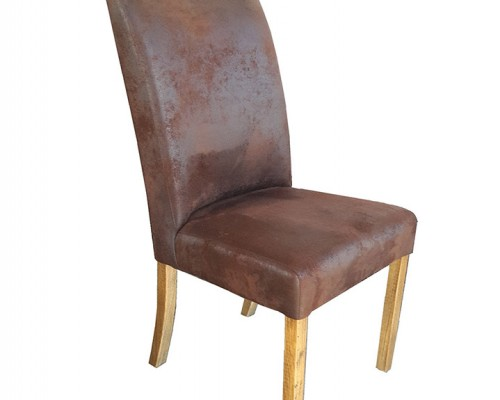 Bomber Suede Chair