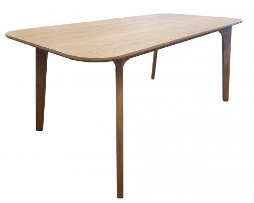 A line Scandi Oak Table