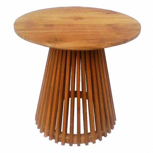 Rujiki Teak Circular Side Table